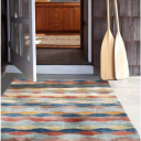 Cinnamon Ripple – Wool Rug ( Contributions Greatly Appreciated )